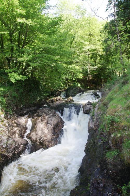 Le parc de Gimel les Cascades