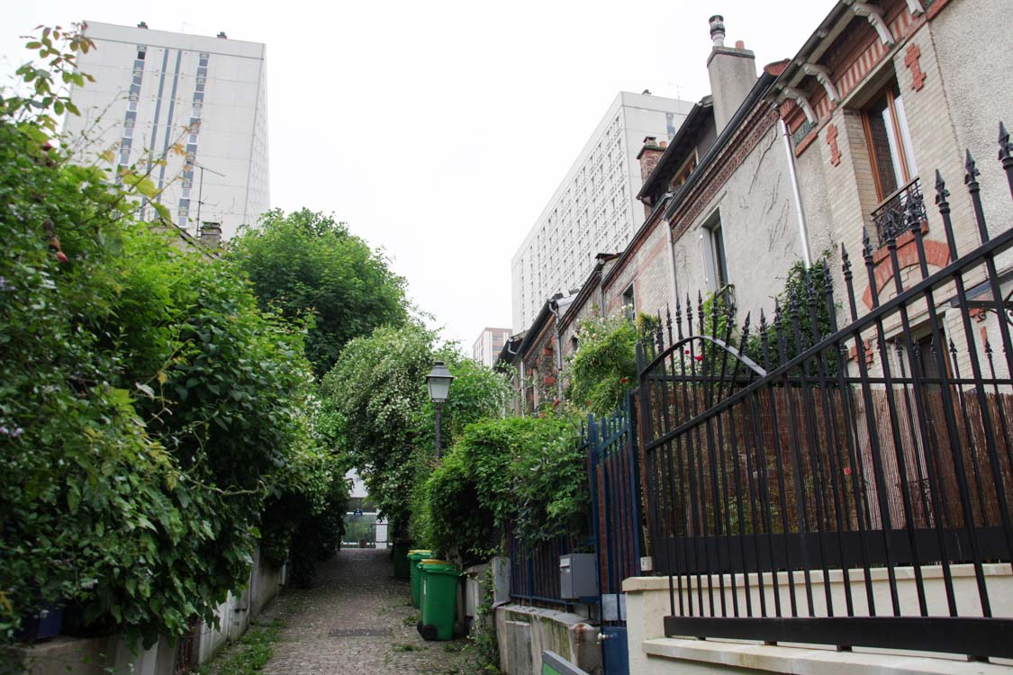 Quartier de la Mouzaia - Paris