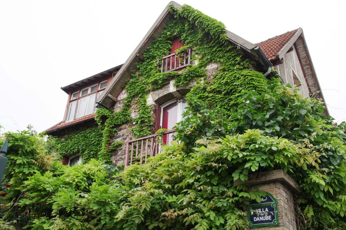 Villa Danube - Quartier de la Mouzaia - Pari