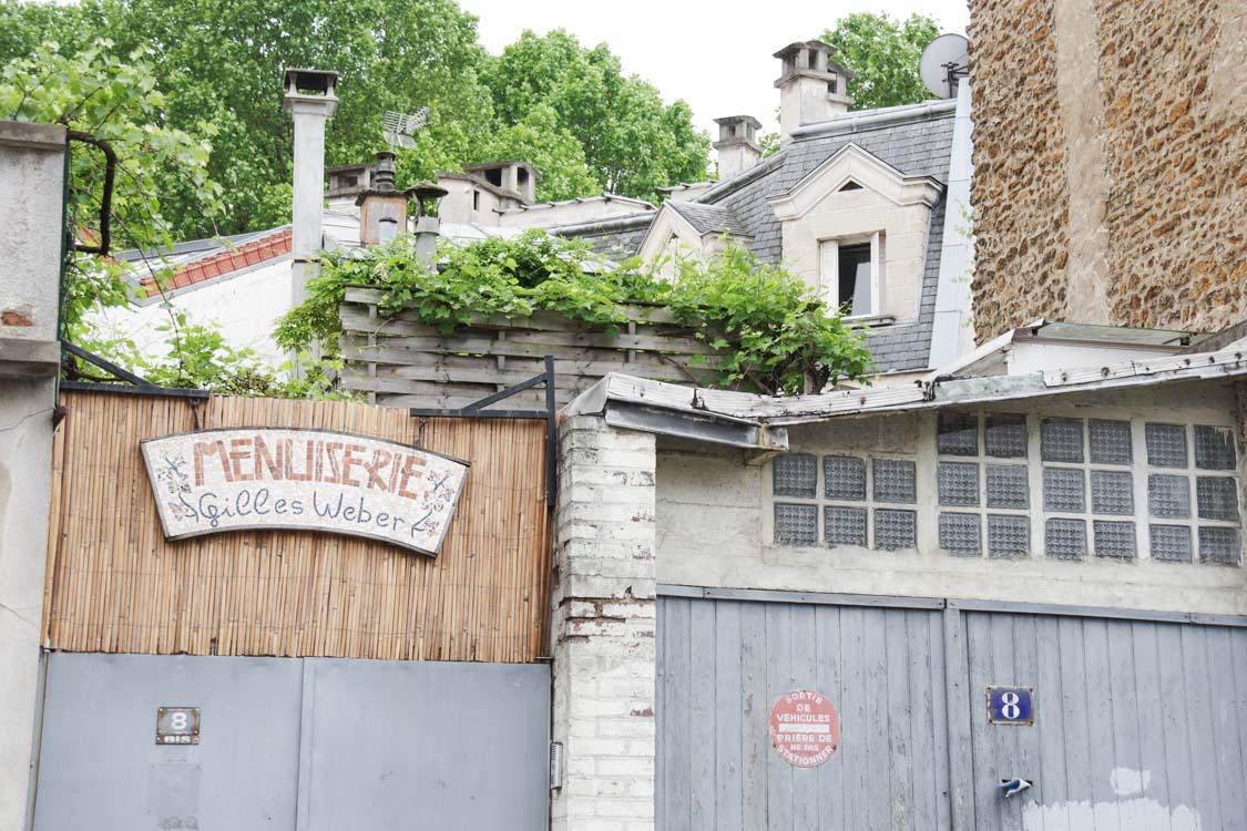 Menuiserie - Quartier de la Mouzaia - Pari