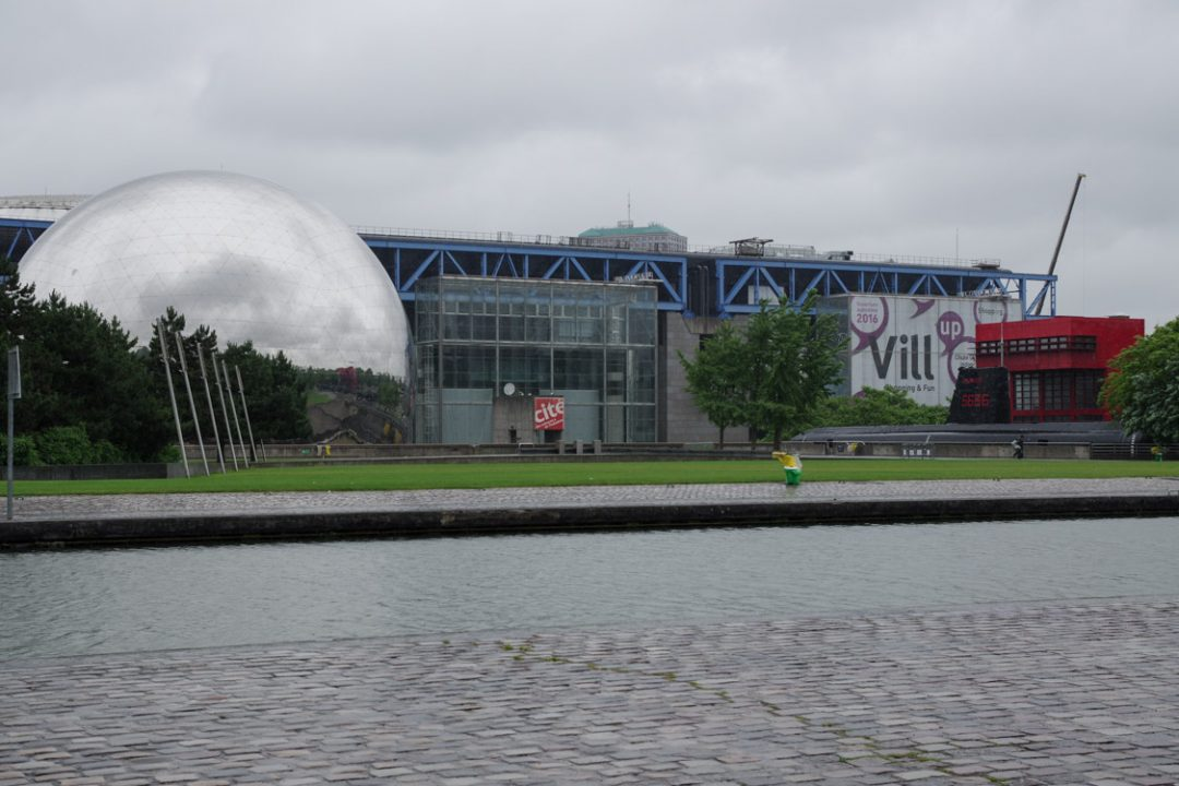La cité des Sciences à la Villette