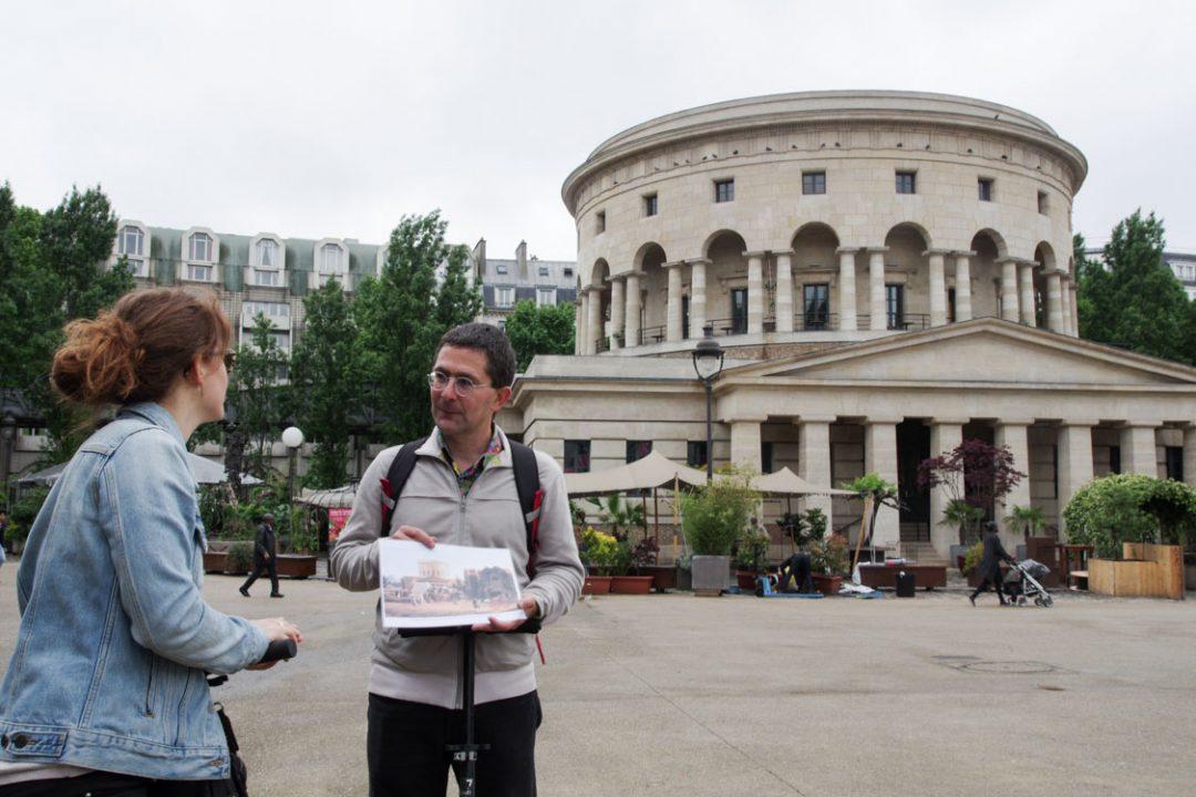 Visite guidée place Stalingrad - Paris