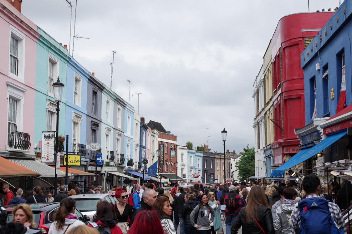 Marché de Portobello Road - Notting Hill - Londres
