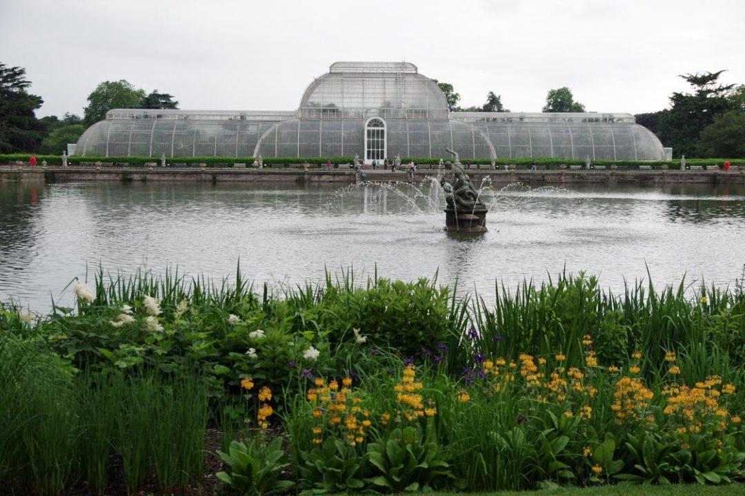 la grande serre du jardin botanique de Kew Gardens