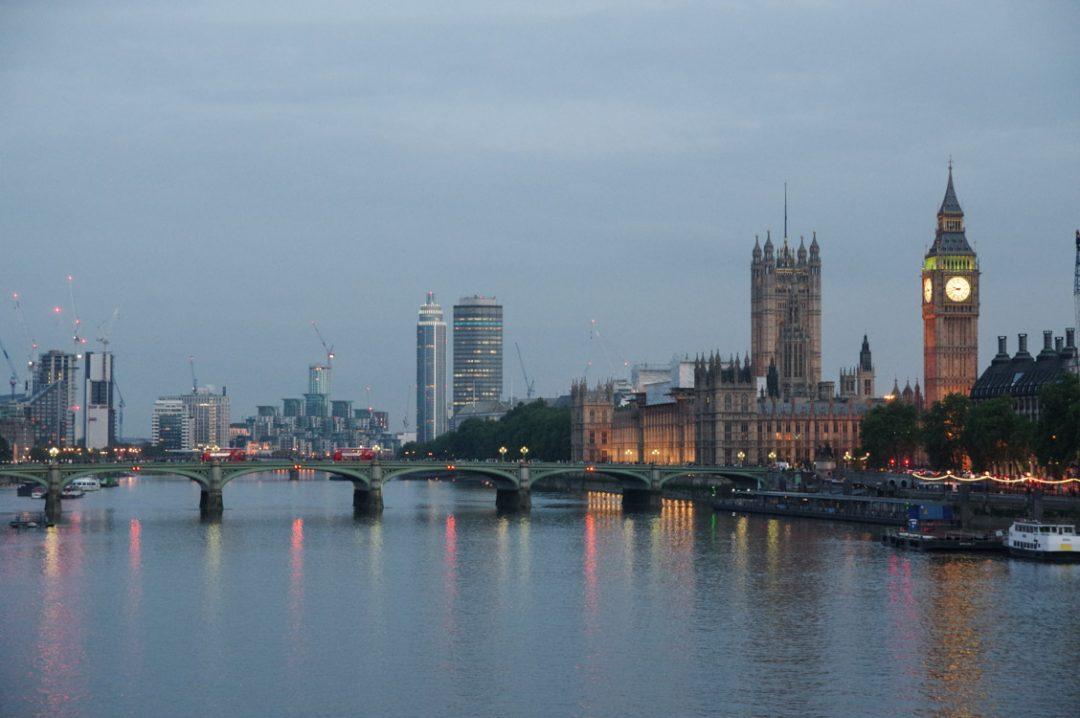 Panorama sur la Tamise et Big Ben - Londres