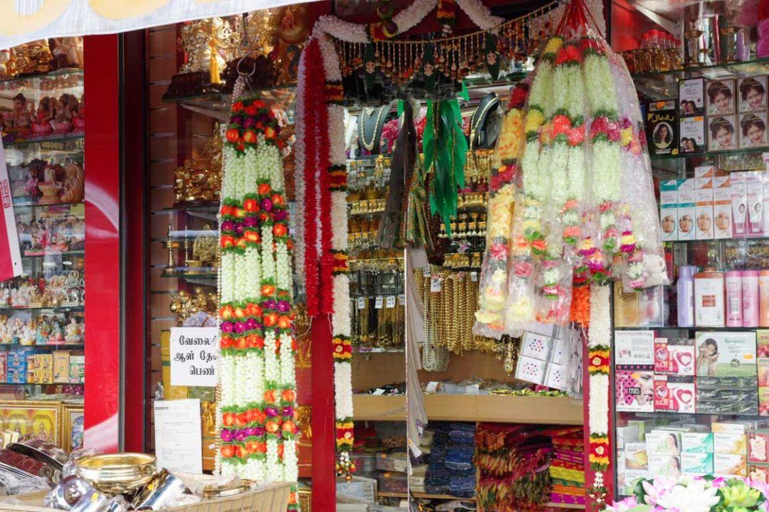 magasin à Little India à Paris