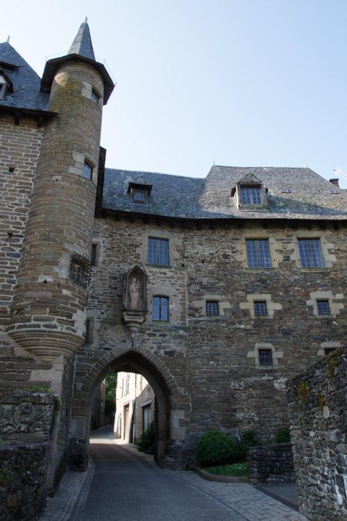 vielle maison médiévale à Uzerche
