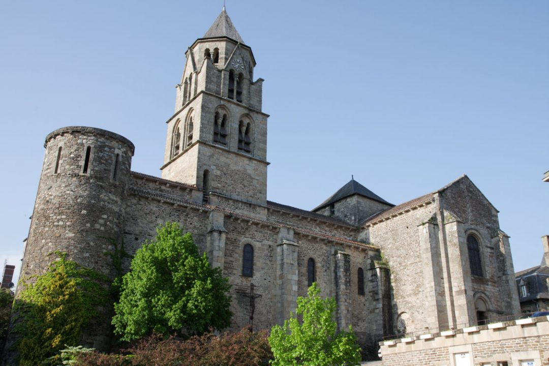 Abbatiale Saint Pierre à Uzerche