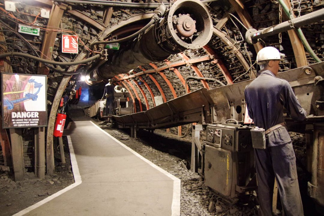 visite de la mine de Lewarde