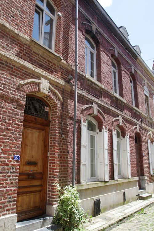 Petite ruelle du centre-ville de Douai
