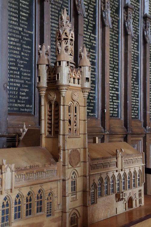 Maquette du Beffroi de Douai