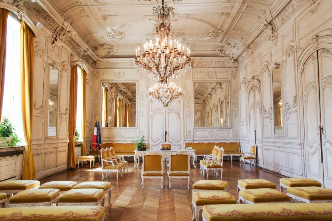 Salle pour les mariages de l'hôtel de ville de Douai