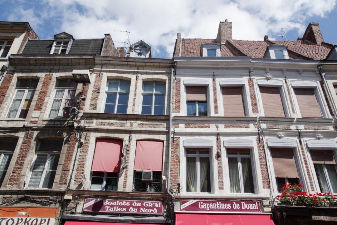 maisons du centre-ville de Douai