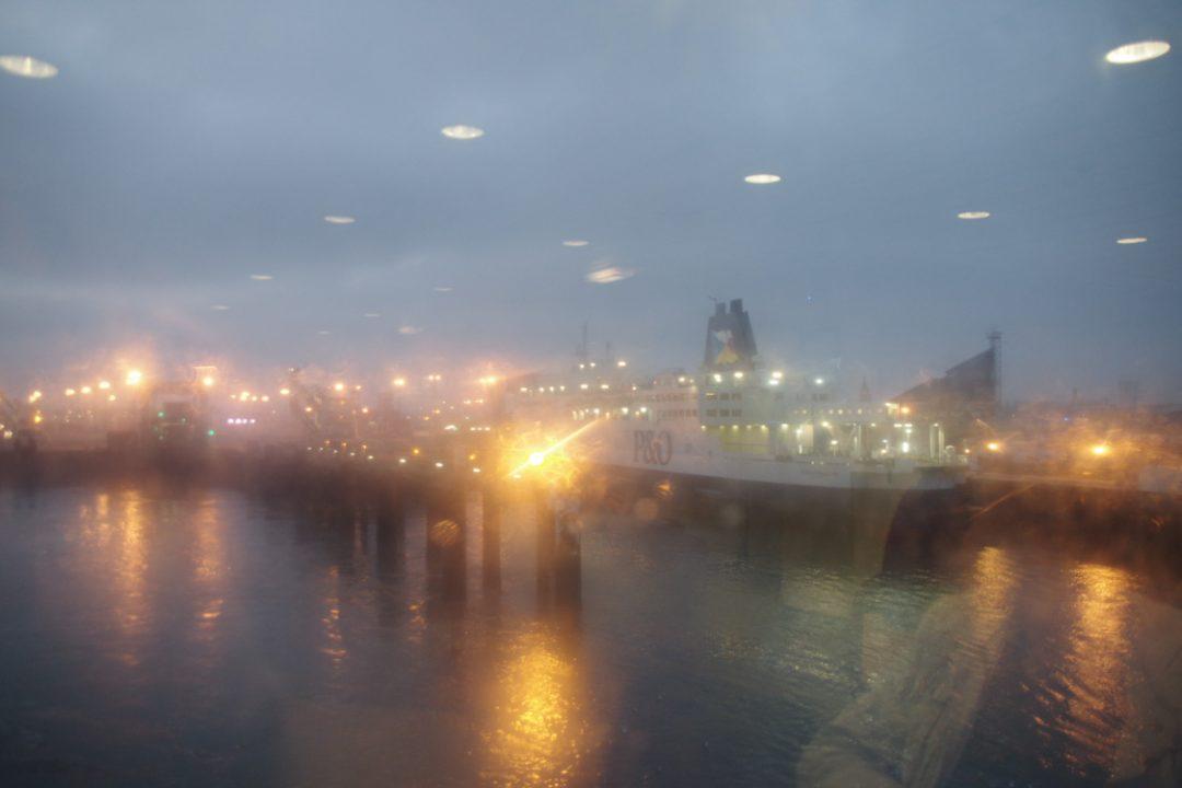 Les ferrys P&O à Calais