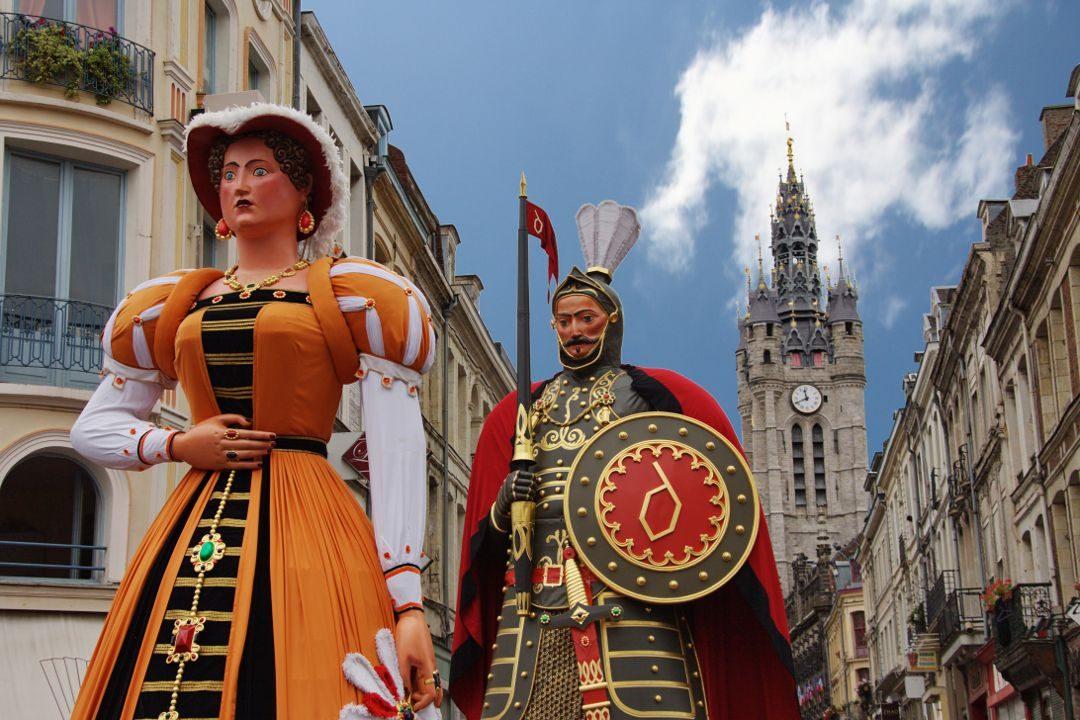 Les géants de Douai