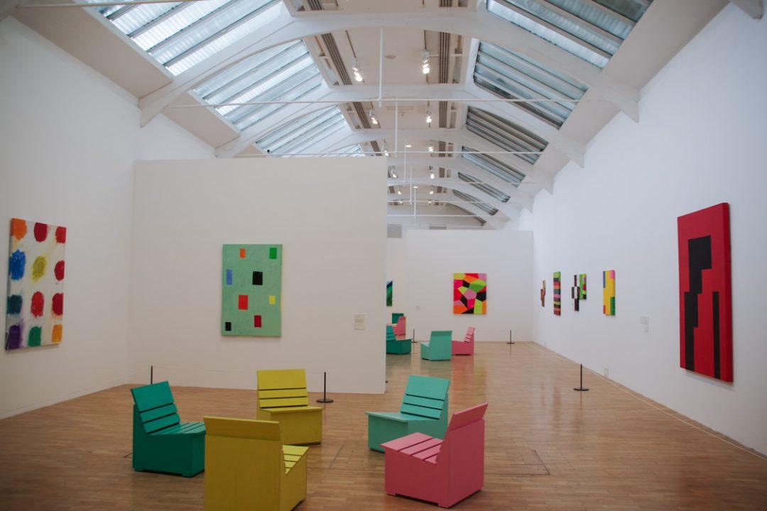 Intérieur de Whitechapel Gallery