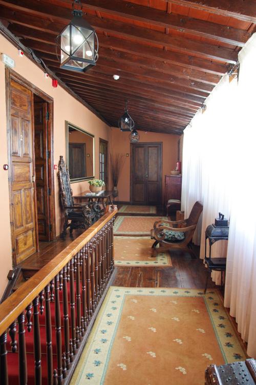 couloir de l'hotel Rural La Orotava