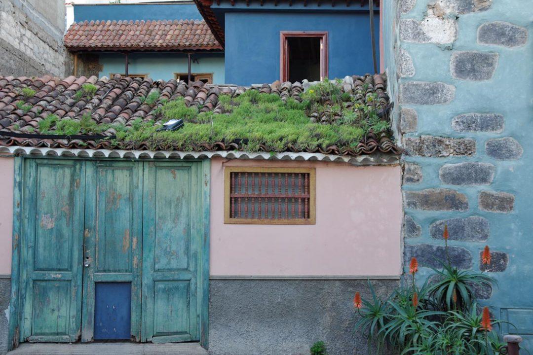 les maisons colorées de la orotava