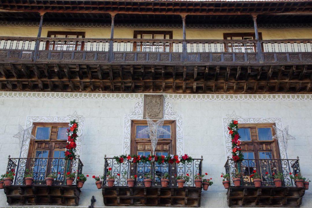 La casa de los Balcones - La Orotava