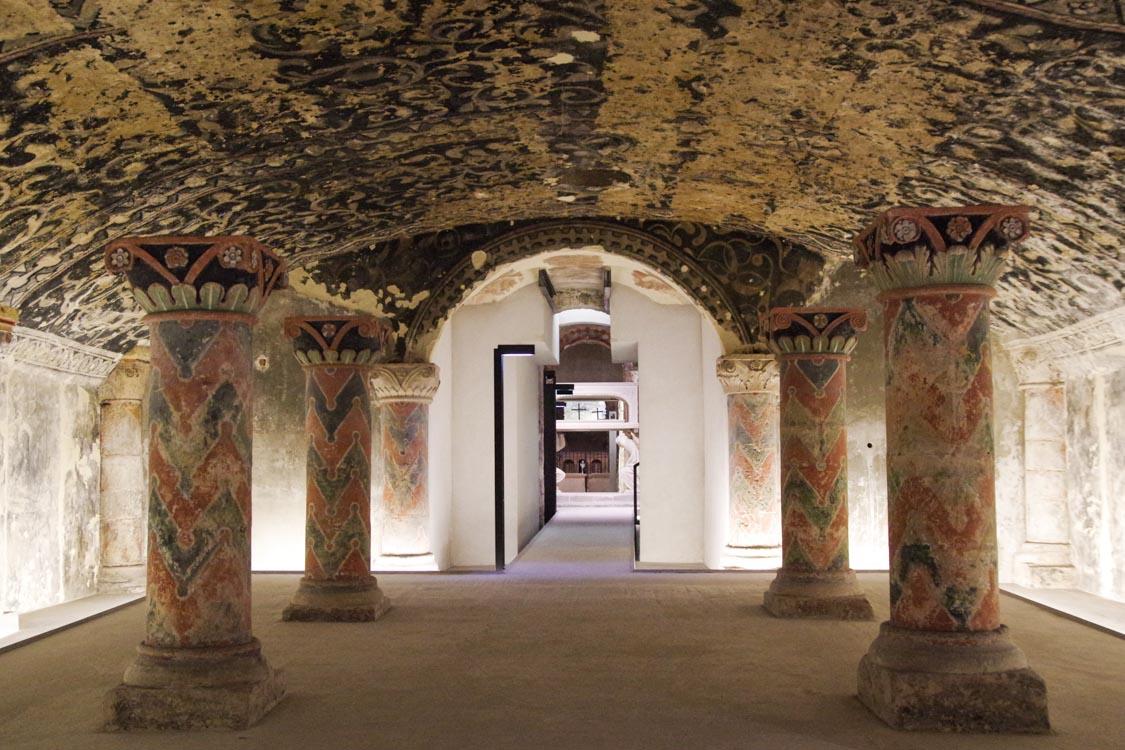 Crypte romane de la cathédrale de Boulogne sur Mer