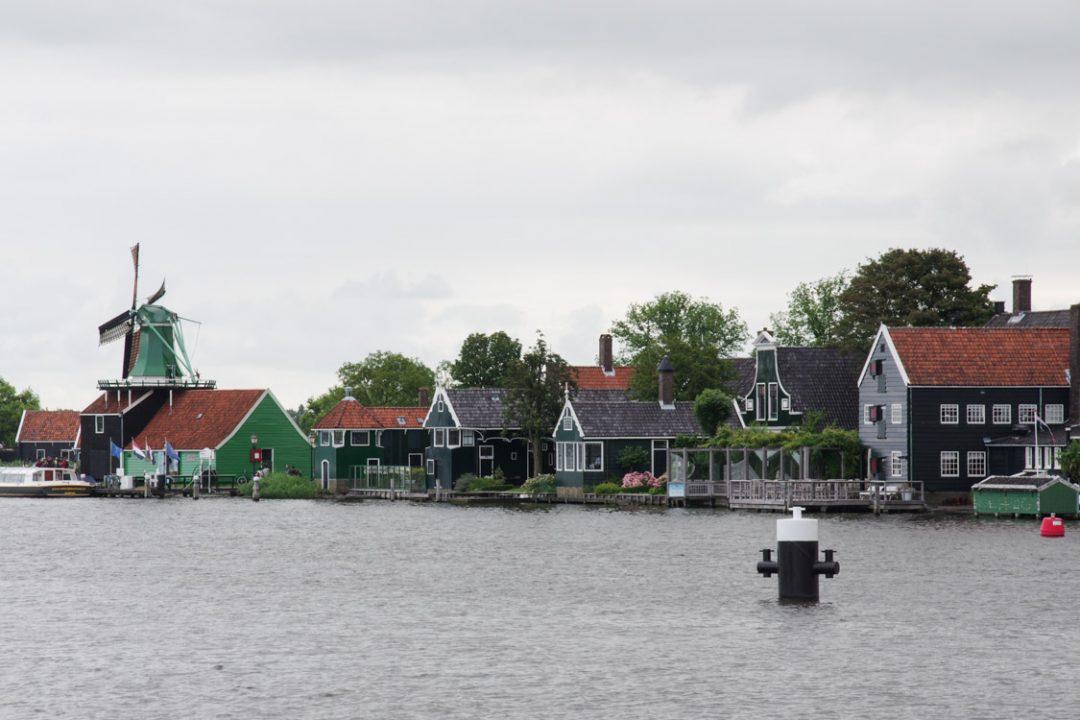 les moulins de Zaanse Schans aux Pays-Bas