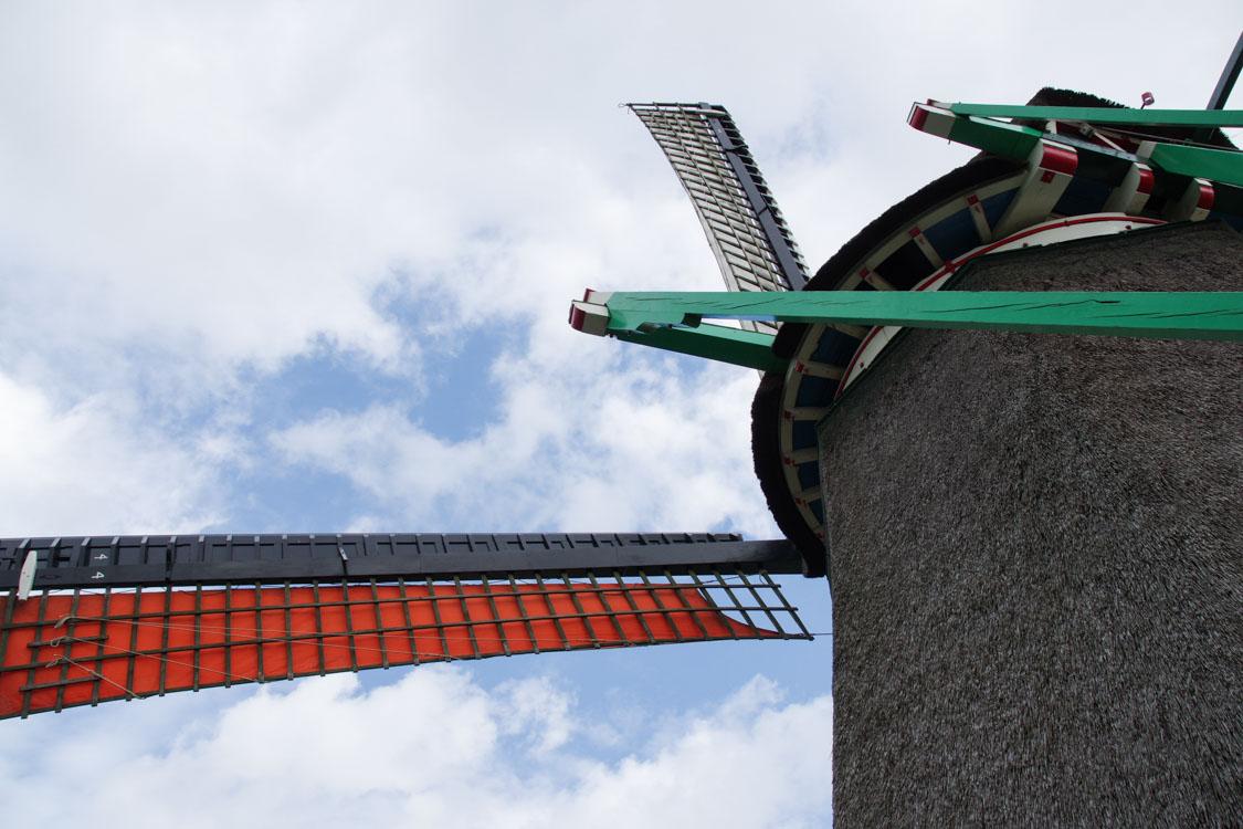 Balade à vélo aux moulins de Zaanse Schans