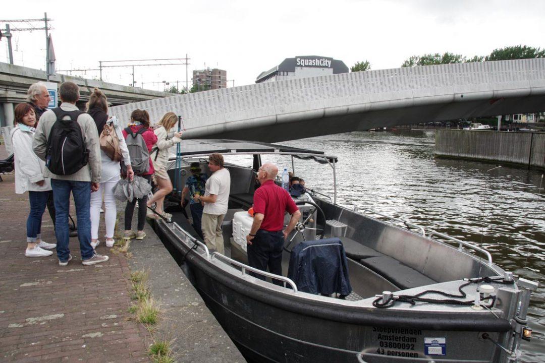 Balade apéro avec Amsterdam Bateau
