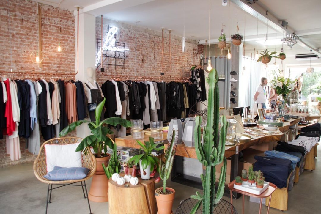 Un concept store dans le quartier De Pijp à Amsterdam
