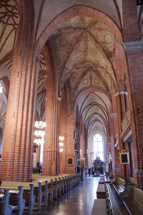 intérieur de la cathédrale de Stockholm