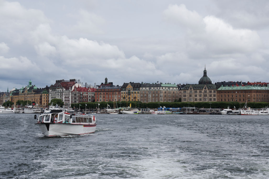 Excursion en bateau à Stockholm