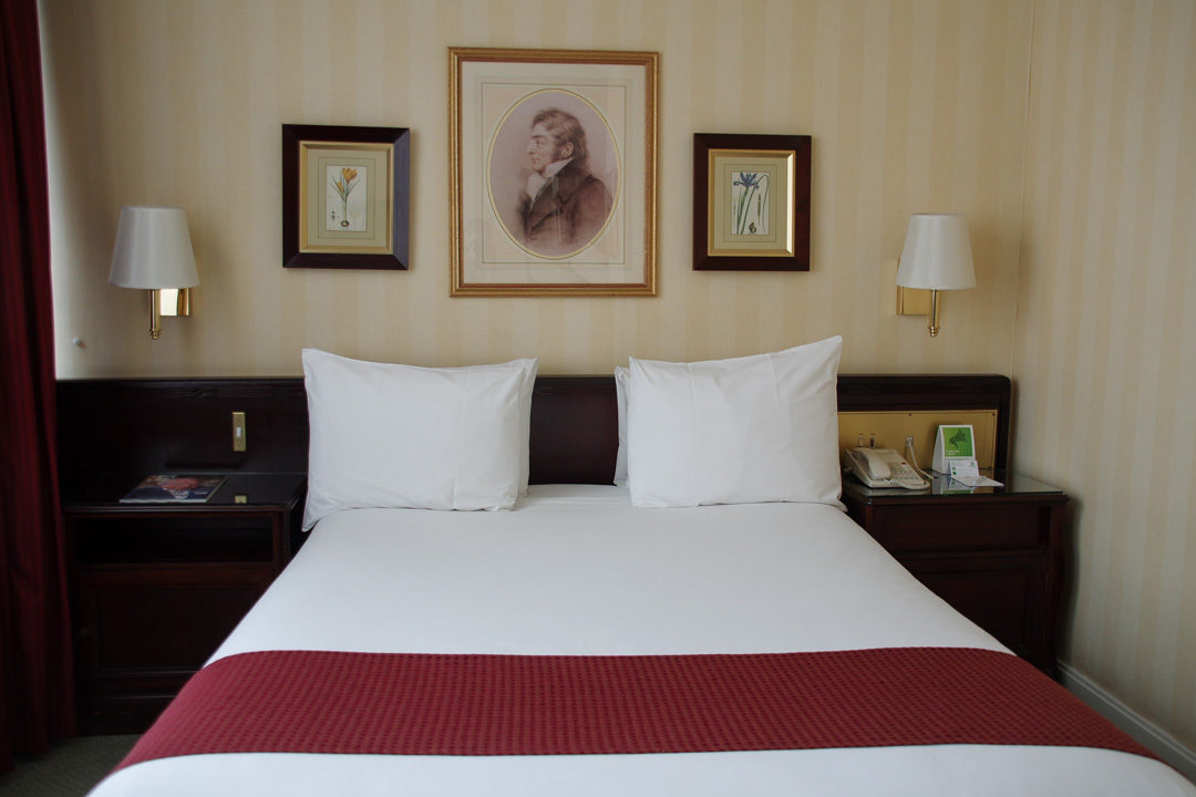 Chambre de l'holliday Inn London Mayfair