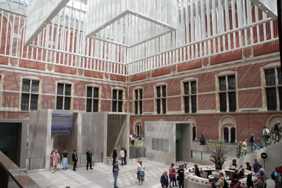 hall d'entrée du Rijksmuseum