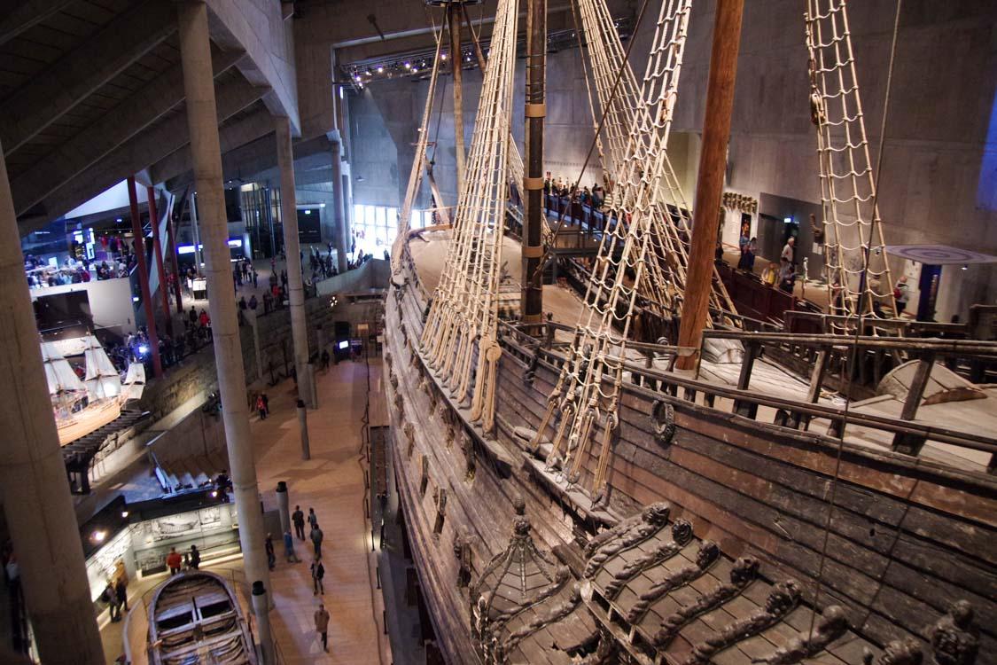 Musée du Vasa à Stockholm