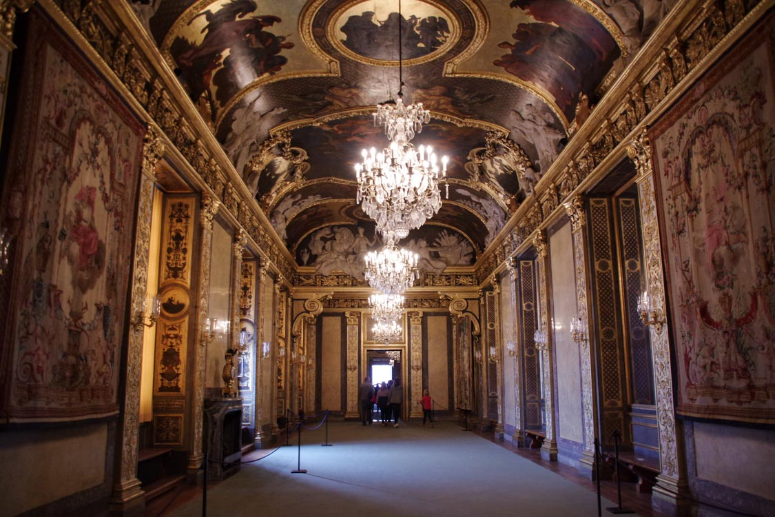intérieur du palais royal de Stockholm
