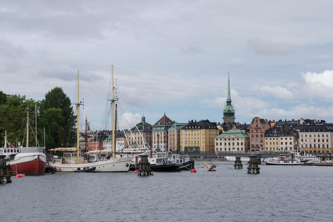 Panorama sur le Centre Historique de Stockholm