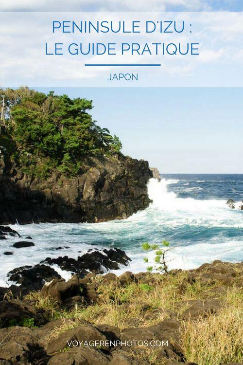 Visite de la Péninsule d'Izu au Japon d'Atami à la Côte de Jogasaki