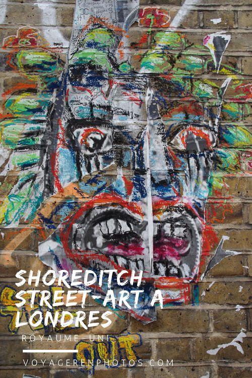 Balade street art à Londres dans le quartier de Shoreditch dans l'East End