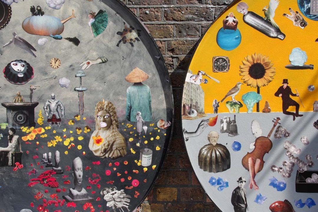 Street Art autour de Brick Lane à East London - Shoreditch - East London