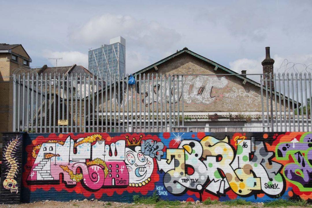 Street Art autour de Brick Lane - Shoreditch - East London