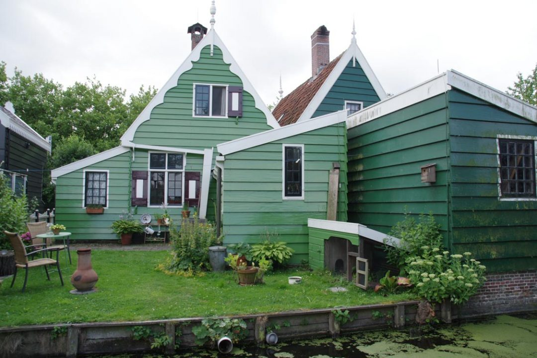 Village traditionnel hollandais de Zaanse Schans
