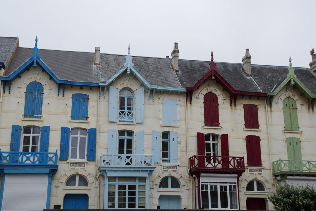 Villas de la station balnéaire de Wimereux