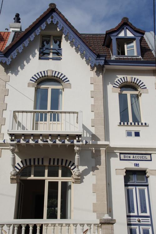 Villa dans le centre ville du Touquet