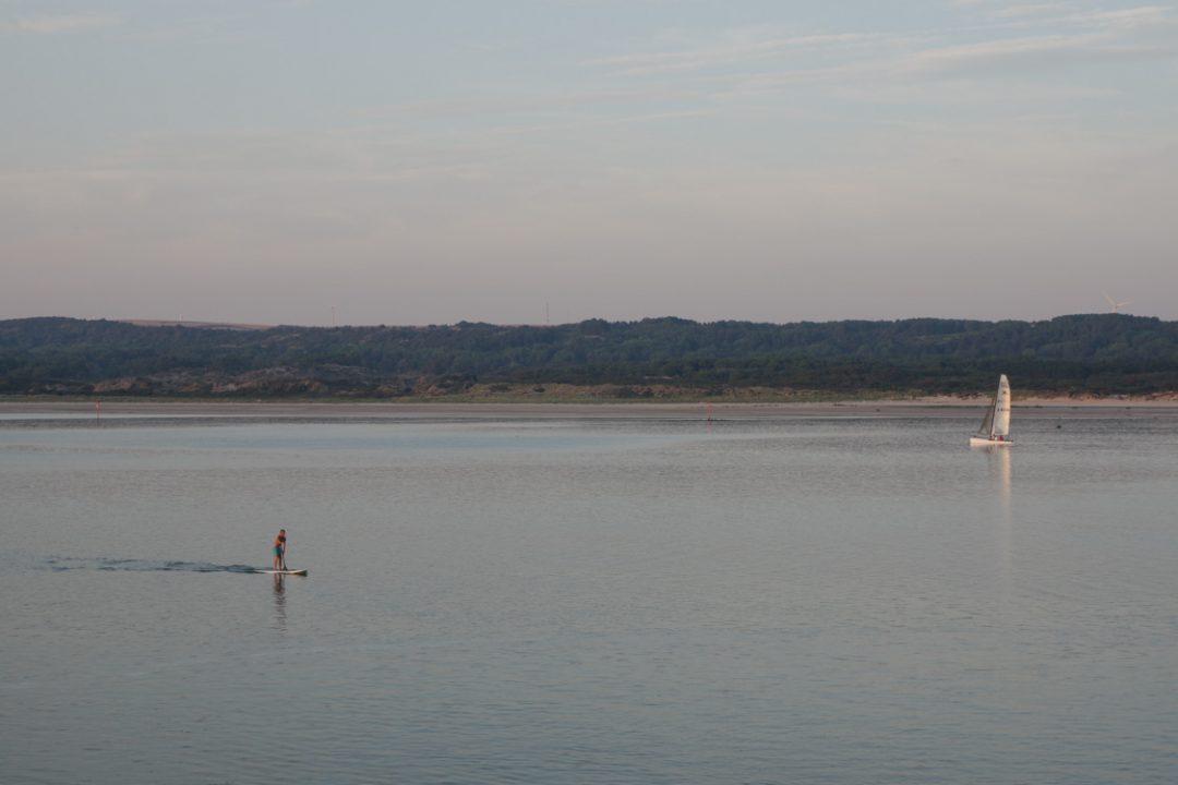 Un paddle sur la Baie de Canche