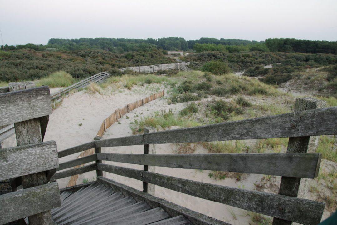 les dunes de sable du touquet