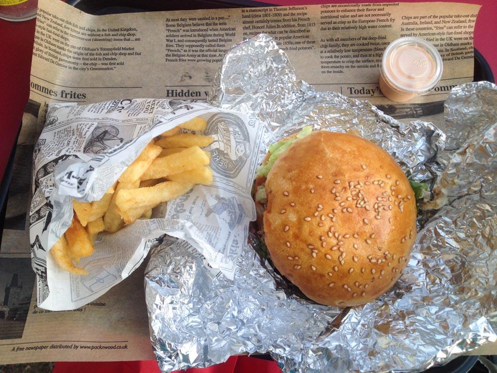le burger fermier des enfants rouges
