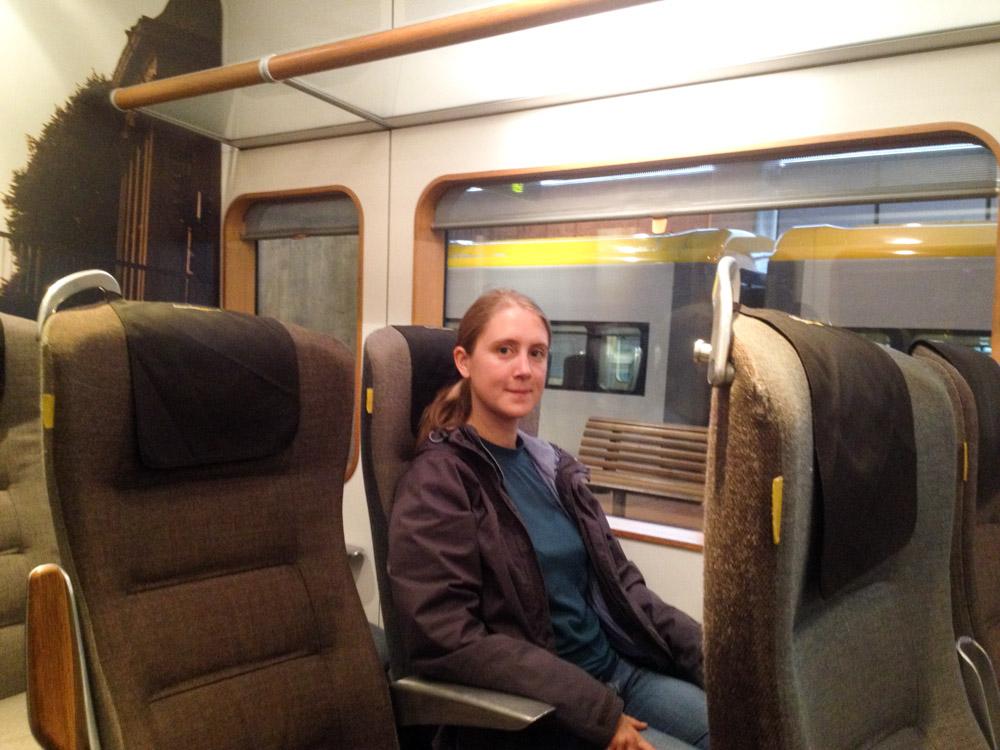 A bord de l'Arlanda Express