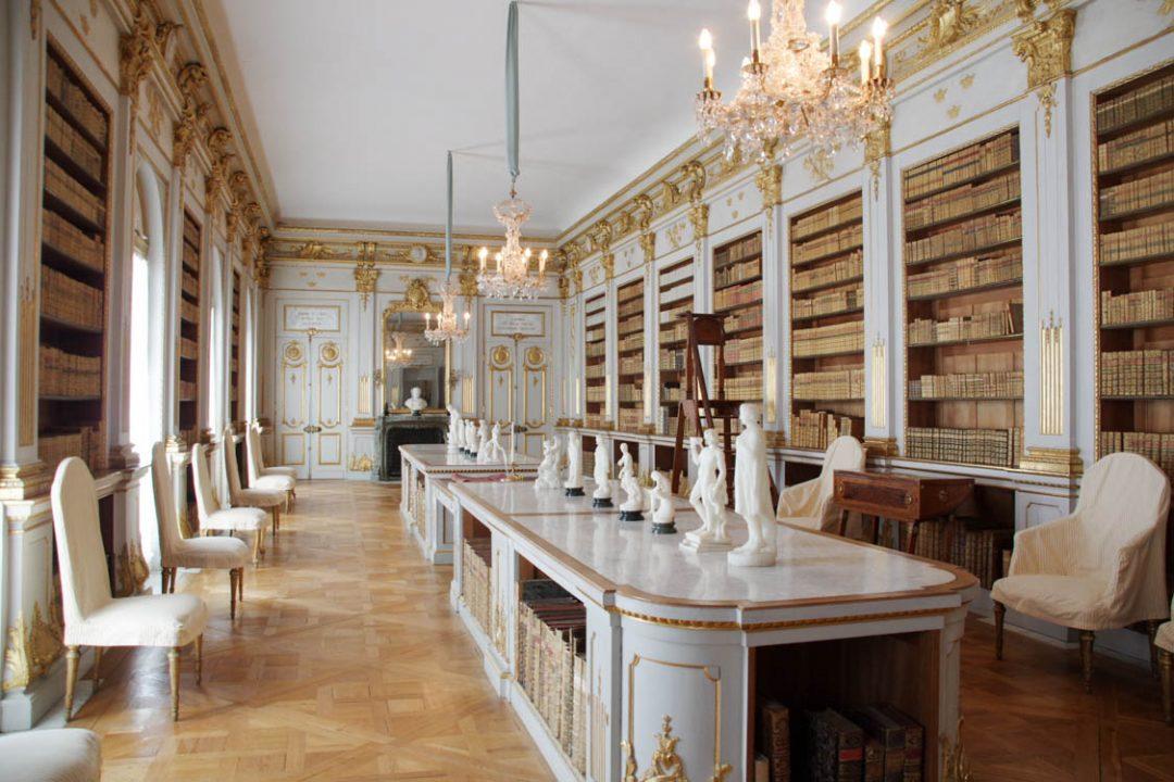 Bibliothèque du chateau de Drottningholm
