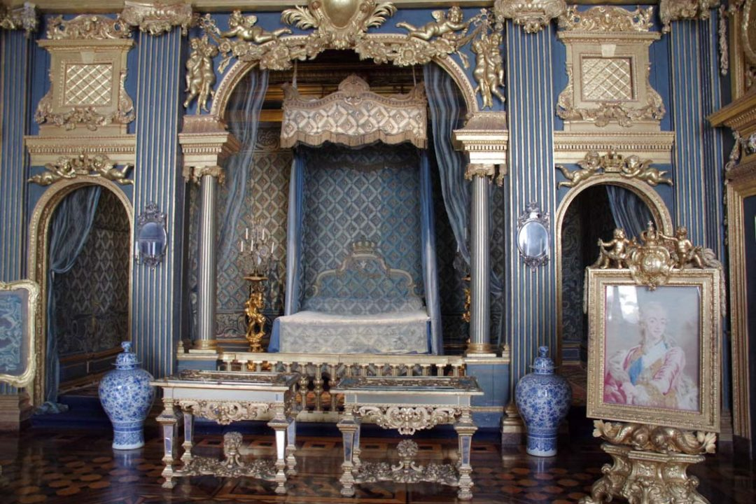 Chambre du chateau de Drottningholm