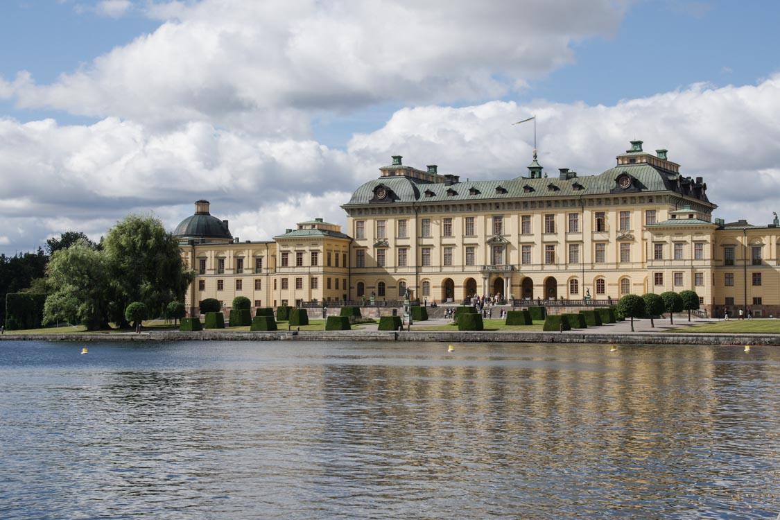 Visite du château de Drottningholm : le palais de la famille royale de Suède