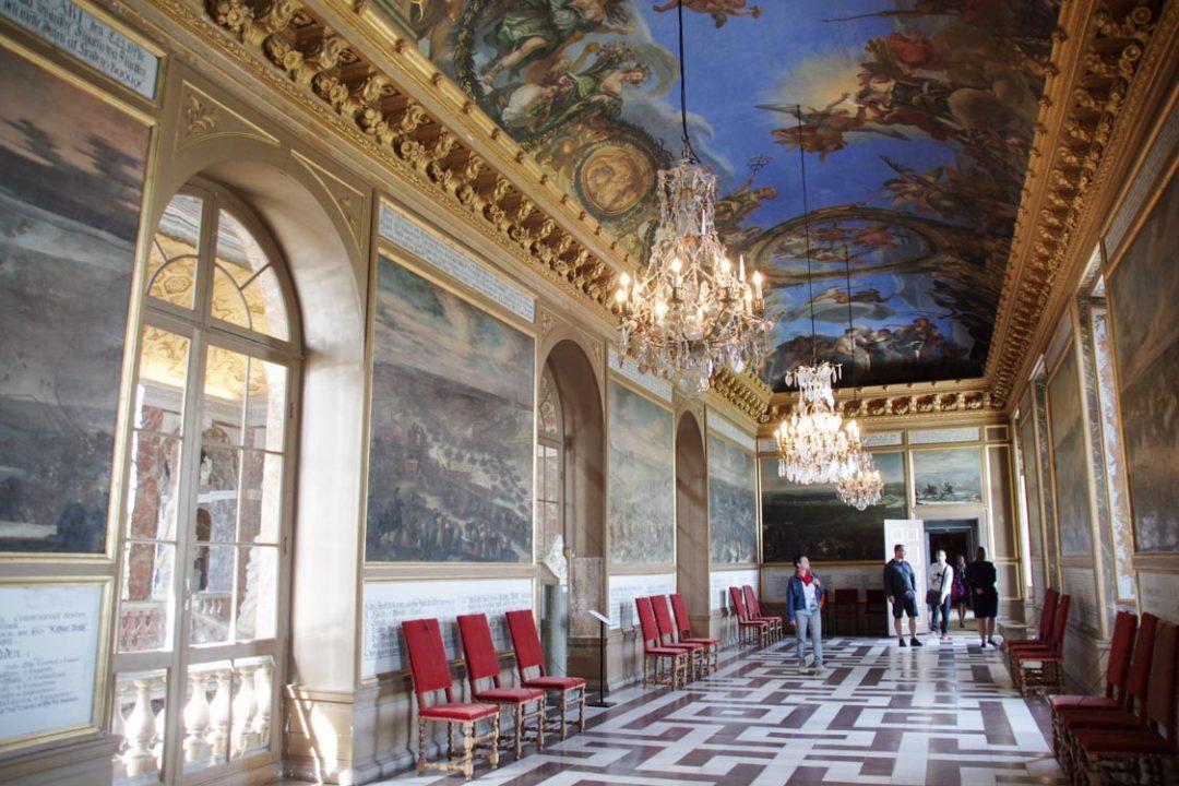 Galerie du chateau de Drottningholm